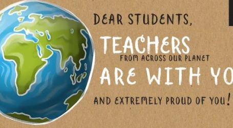 Teachers join in support of their students