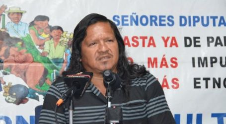 EI condemns murder of indigenous leader