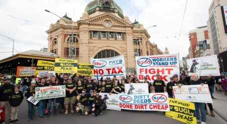 Victory at ExxonMobil in Australia after two-year picket