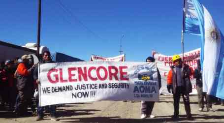 Argentina – historical march to victory in Glencore mine