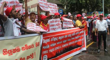 Sri Lankan unions demand withdrawal of anti-worker labour law