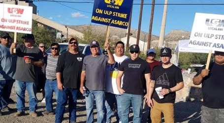 US copper workers strike after decade with no pay rise
