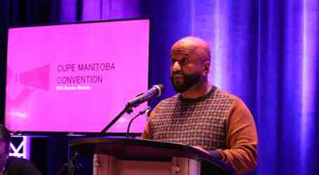 Abe Araya Elected as President of CUPE Manitoba