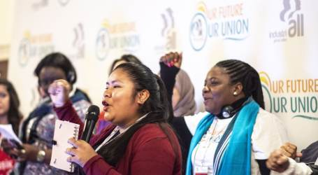 Our future, our union – IndustriALL World Women's Conference demands transformative agenda