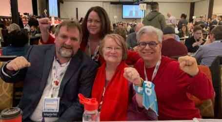 Janice Folk-Dawson, Chair of CUPE Ontario's University Workers' Committee, elected OFL Executive Vice-President