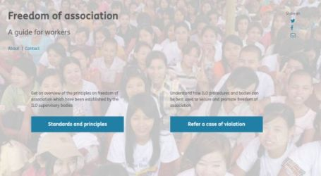 How to secure and promote freedom of association? New ILO web application provides a guide for workers