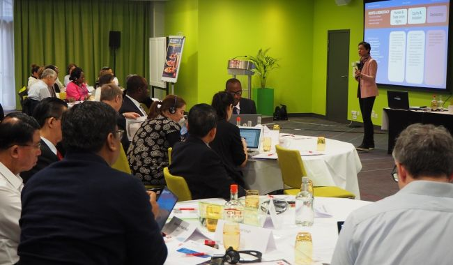 EI's Development Cooperation Network meets in Brussels