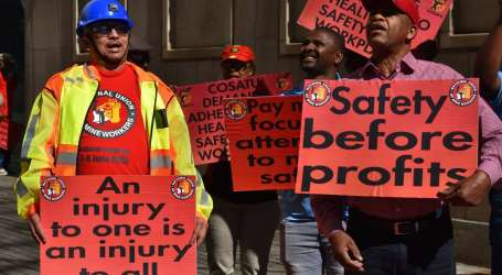 South Africa: 378 trapped mineworkers safely rescued