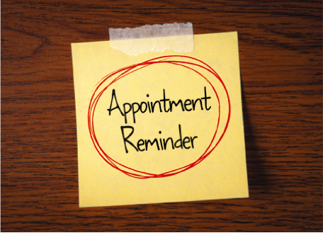 Take Note: You Can Now Be Billed for that Missed Appointment