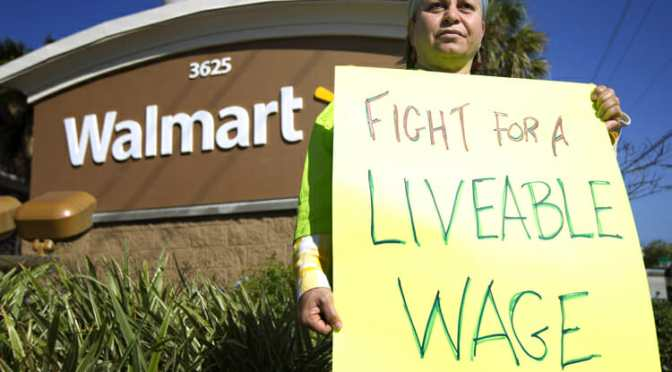 Wal-Mart & McDonald's: Passing the Buck to Taxpayers