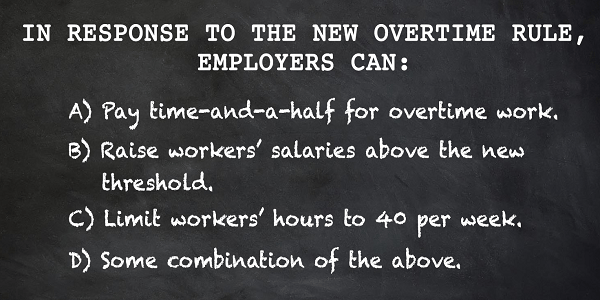The New Overtime Rule – Impacts on Workers' Comp Claims