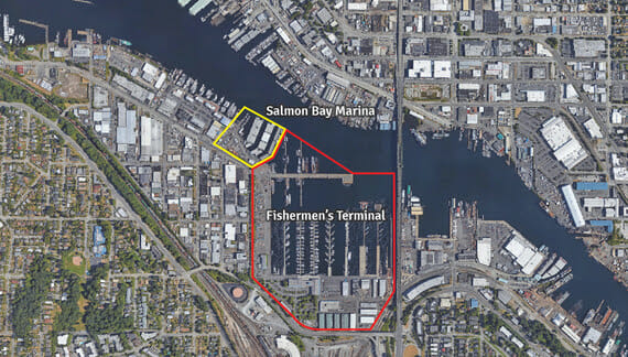 Port of Seattle Purchases Salmon Bay Marina