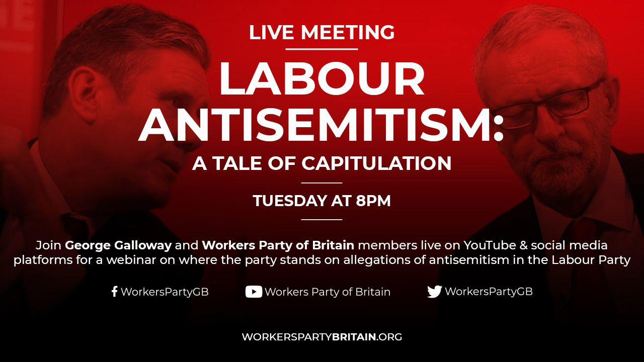 Labour antisemitism meeting WPB