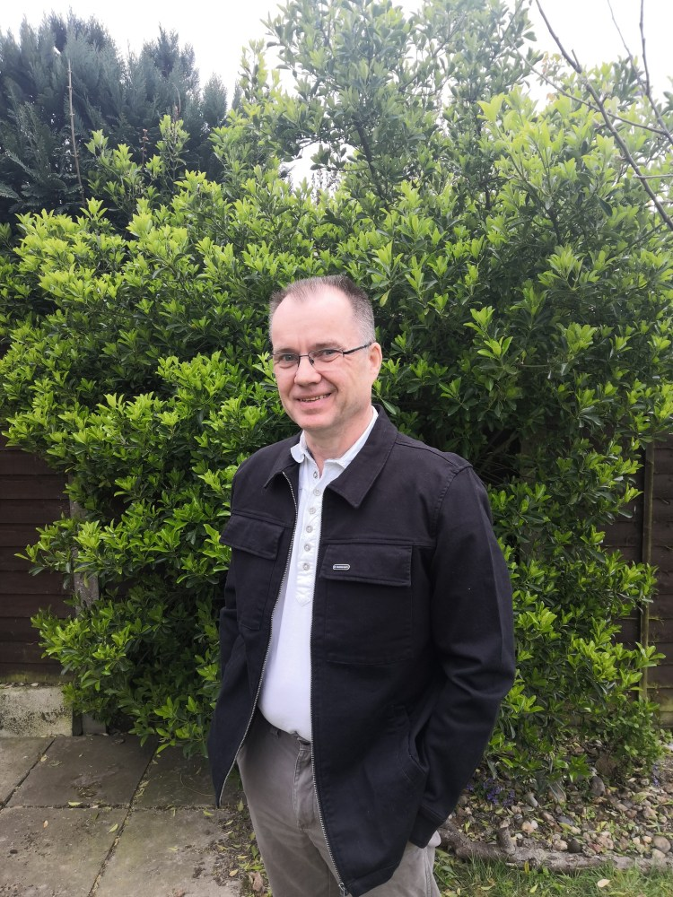 Ian Caruana, Workers Party candidate for Tendring Rural West