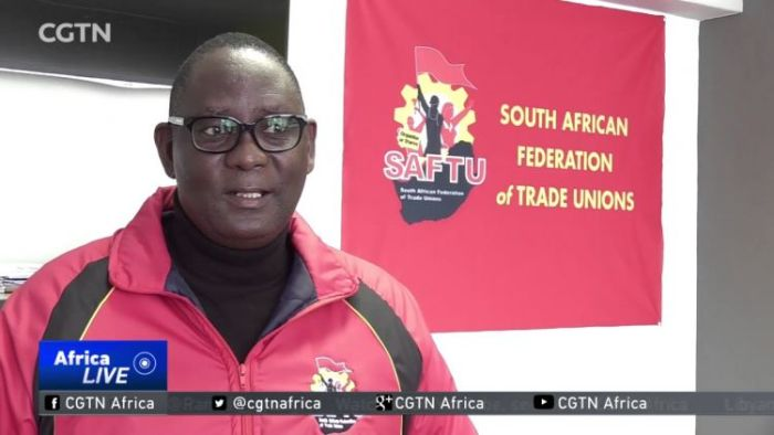 South Africa's New President and Labor Unions at Loggerheads
