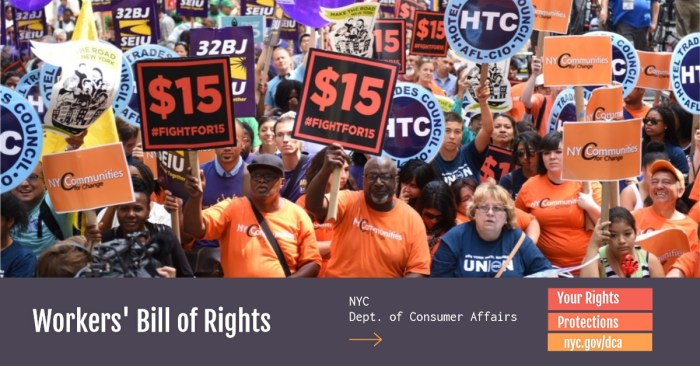 Workers Bill of Rights NYC