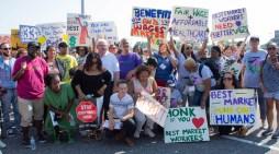 Women of UALE Summer School Support Best Market Workers