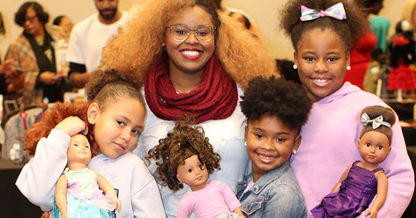 PR: Detroit to Host Largest Black Doll Show of It's Kind