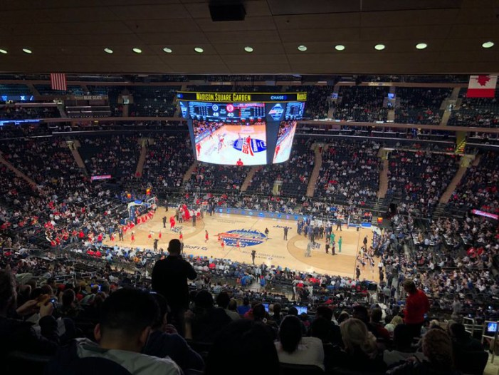 Big East finally cancels tournament after allowing St. John's, Creighton to play first half at the Garden