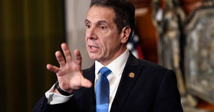 Cuomo says Trump is not a king, can't force states to reopen