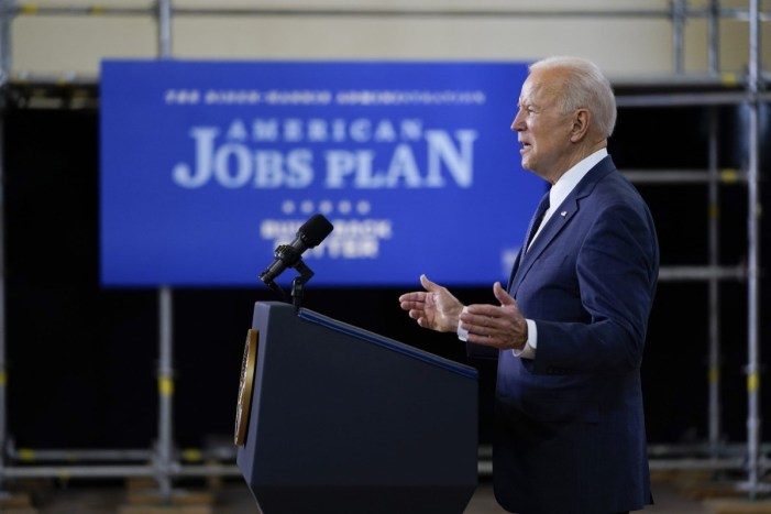 As Biden Unveils Infrastructure Package, Unions Urge Unprecedented Federal Investments, Structural Economic Changes