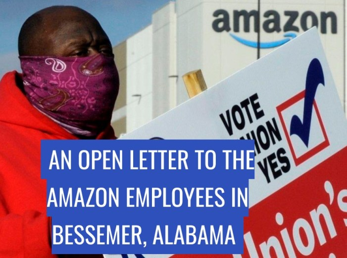 Local 3 Business Manager Pens Open Letter to Amazon Workers in Bessemer, Alabama