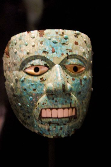 More scare Aztec masks