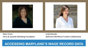 Workforce Matters Baltimore Wage Record Study 9.6.18 Webinar