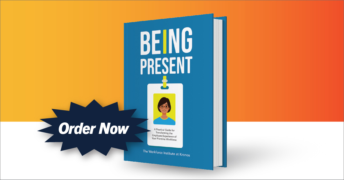 Being Present:  Our Newest Book!