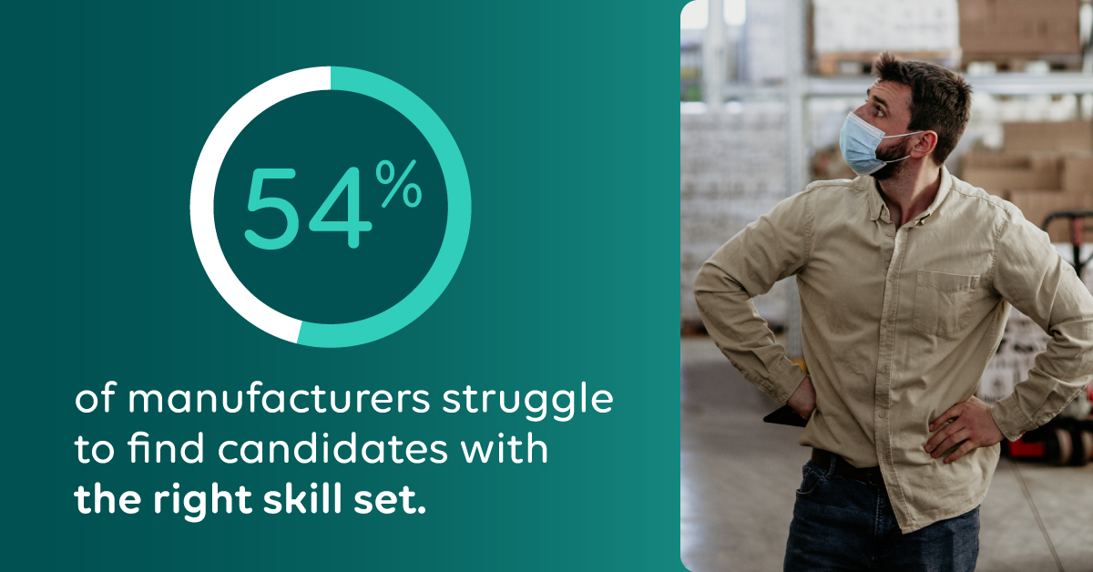 New Survey Finds Pandemic-fueled Labor Shortages Intensify Talent Crisis in Manufacturing