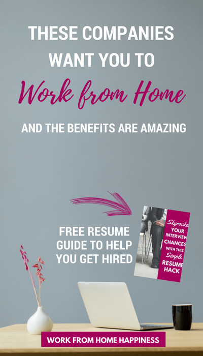 Looking for full-time work from home jobs? Look no further! These companies want you to work from home, and the benefits they offer are amazing!