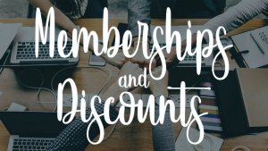 Memberships and Discounts