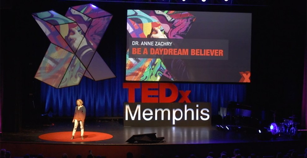 "TEDx Memphis- ""Be a Daydream Believer"""