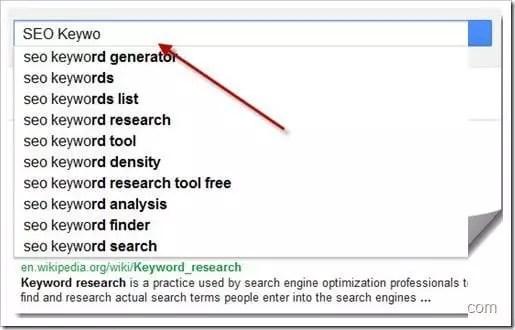 Hướng dẫn tìm từ khóa để viết bài cho web