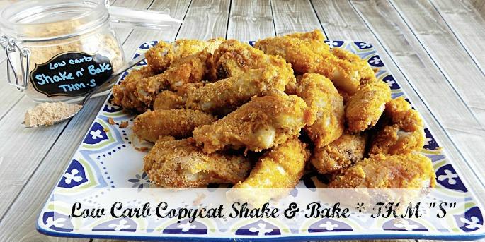 Low Carb Shake n Bake CopyCat Recipe - Gluten Free! Trim Healthy Mama / THM, too