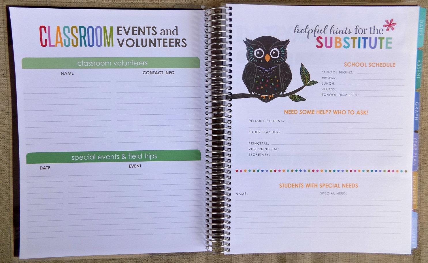 Erin Condren Teacher's Lesson Planner Review