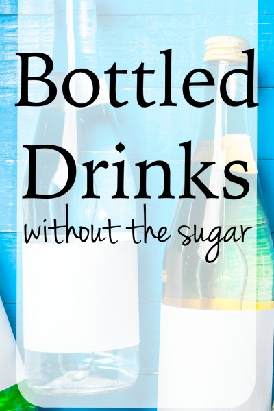 Guilt-Free Bottled Drinks