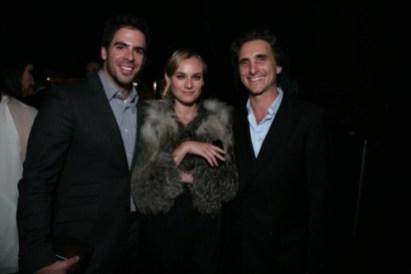 Eli Roth, Diane Kruger and Lawrence Bender