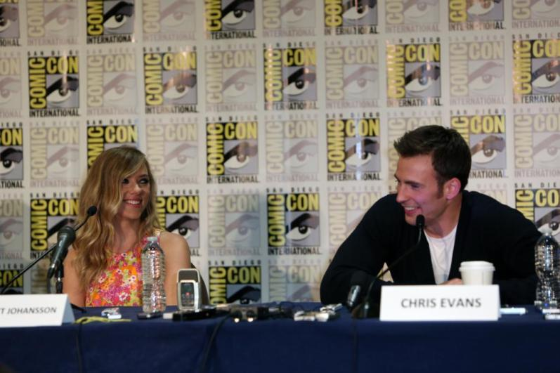 """Marvel's """"Captain America: The Winter Soldier"""" during Comic-Con International 2013 at San Diego Convention Center"""
