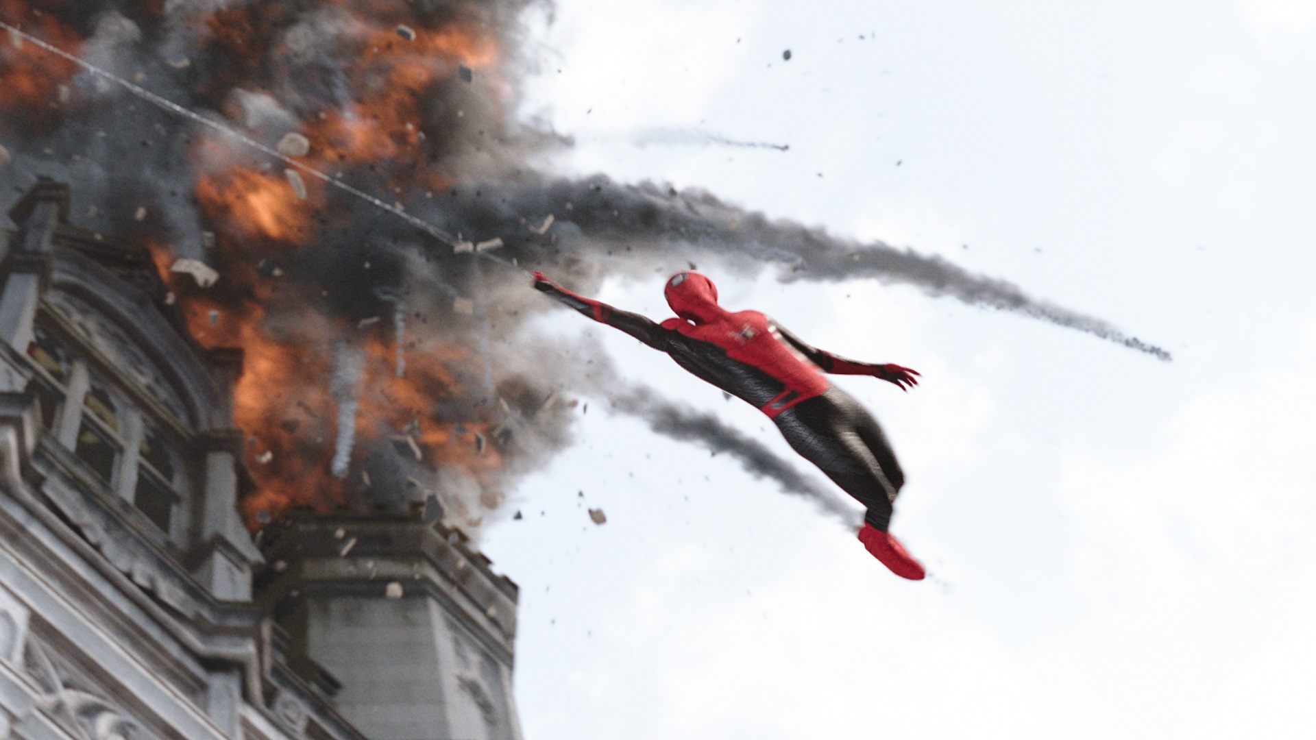 Spider-Man (Tom Holland) in Columbia Pictures' SPIDER-MAN: FAR FROM HOME