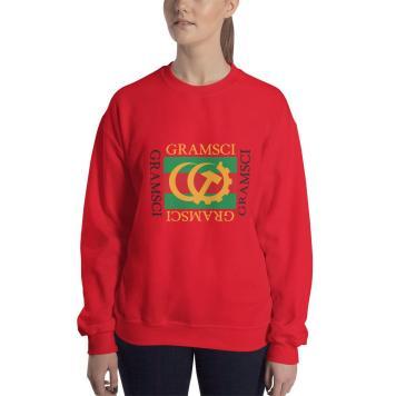 Gramsci red sweatshirt mockup