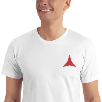 International Brigades embroidered T-shirt