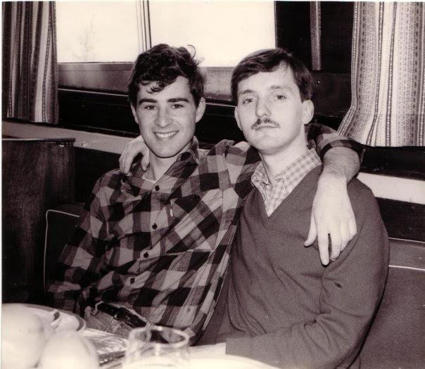 Brett and Martin 1984.jpg