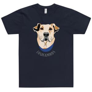 Loukanikos T-shirt mockup