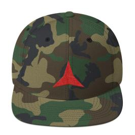 International Brigades snapback mockup