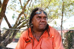 Indigenous leader Wayne Wharton, affectionately known as 'Uncle Coco', hopes to attract attention of issues affecting Indigenous Australians today.
