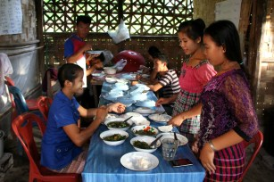 In the college hostels, teens and young adults cook their own dinners using fresh produce from neighbouring farms.