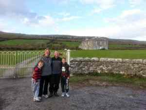 Father Ted's House and the Green Nature Trail in the Burren, Co. Clare