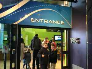 Visit tot the W5 science and discovery centre at Odyssey in Belfast and Fat Dad