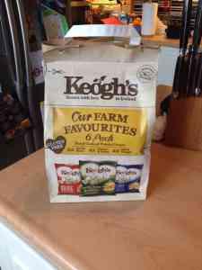 Keoghs Spud Nav- track your crisps